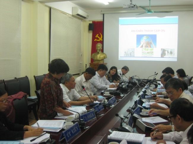 Nghiệm thu đề tài cấp Bộ 2012 -2014 [30/11/2014]