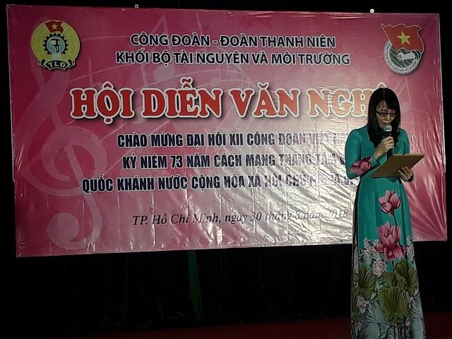 Một số hoạt động về hội diễn văn nghệ chào mừng đại hội XII công đoàn Việt Nam ,73 Năm Cách Mạng Tháng 8 và ngày Quốc Khánh 2/9