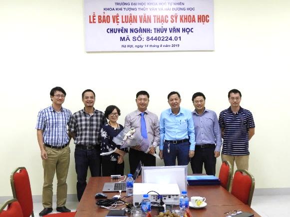 Chúc mừng đồng chí Châu Thanh Hải Bảo vệ thành công luận văn Thạc sĩ